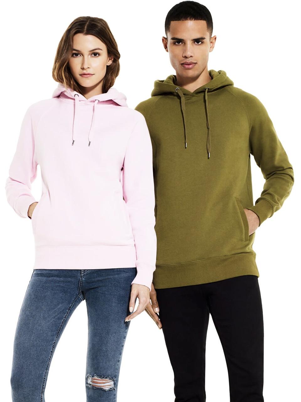 Unisex Style Hooded Sweatshirt