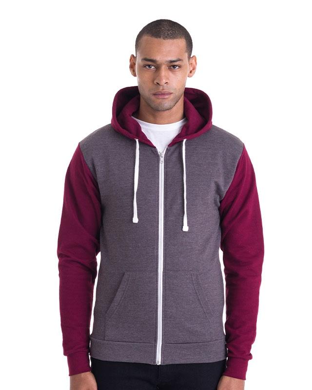 London Retro Zip Hooded Sweatshirt
