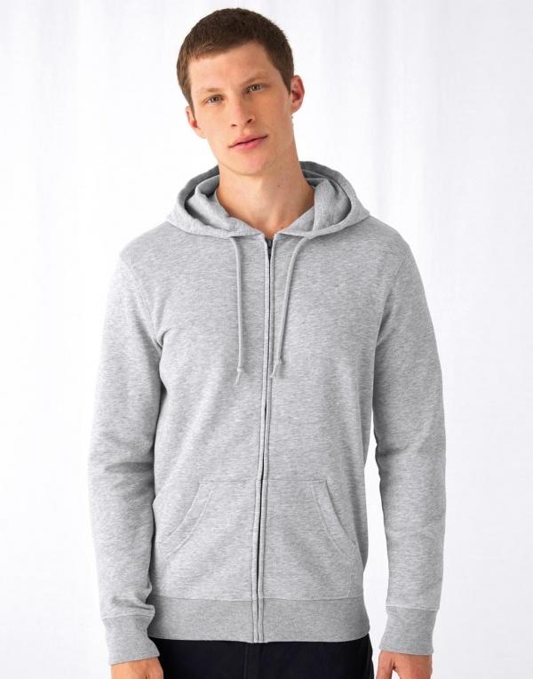 Ben Organic Zip Hooded Sweatshirt