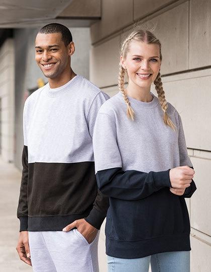 Boston Colour Block Sweatshirt
