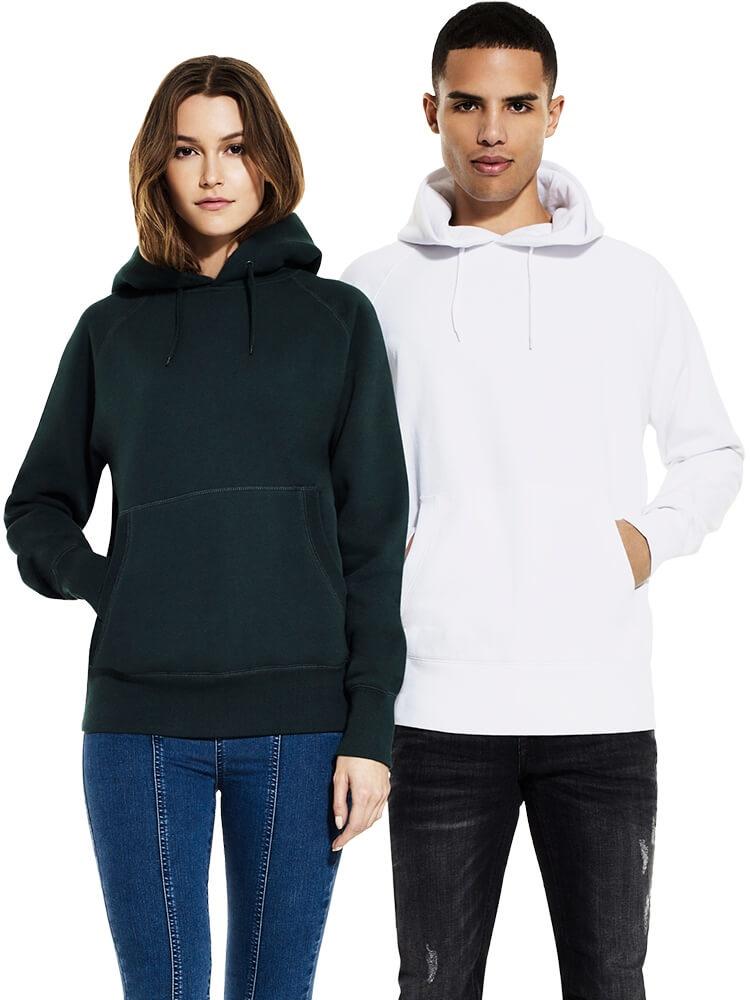 Unisex Classic Style Hooded Sweatshirt