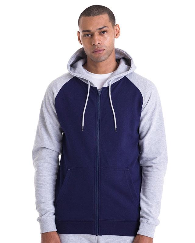 Dublin Baseball Zip Hooded Sweatshirt